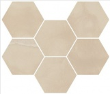 Italon Charme Evo Hexagon Onyx 25x29