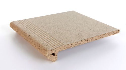 Gres Tejo RUBI Step DEGRAU CASTANHO GREY 30x34x5 (th 15mm)