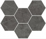 Italon Charme Evo Hexagon Antracite 25x29